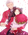 Fate/ Stay Night Archer x Rin Doujinshi
