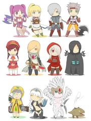 Dragon Nest Random Scribbles
