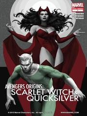 Avengers Origin Scarlet Witch & Quicksilver